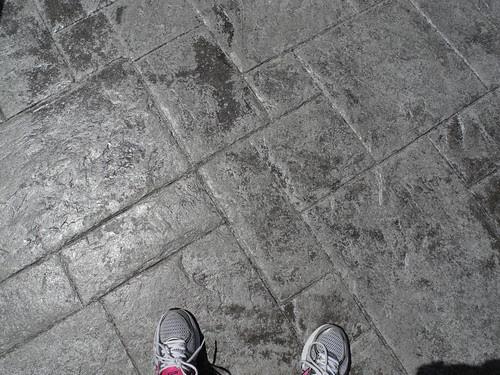 Walking in the footsteps by midgefrazel