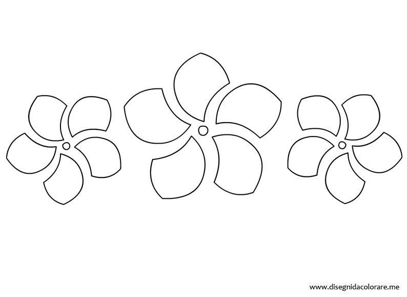 Fiore Di Pesco Disegno Da Colorare Migliori Pagine Da Colorare E