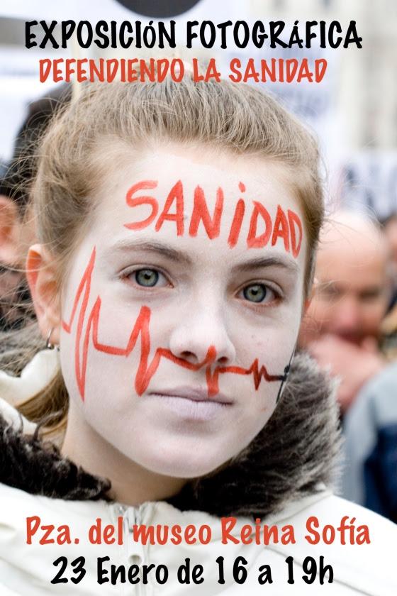 EXPOSICIÓN FOTOGRÁFICA EN DEFENSA DE LA SANIDAD PÚBLICA