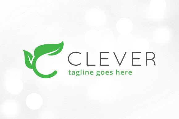 Leaf Letter C Logo Template Logo Templates Creative Market