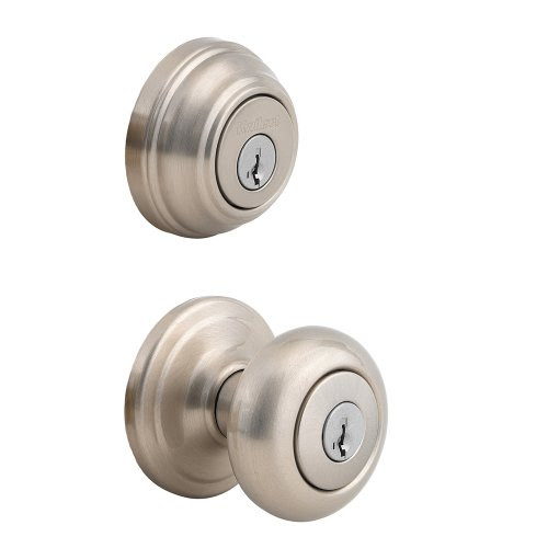 Kwikset 992 Juno Entry Knob and Double Cylinder Deadbolt (Keyed
