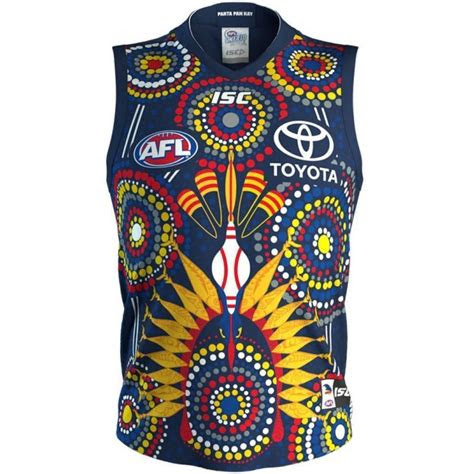 adelaide crows  mens indigenous guernsey acjsym