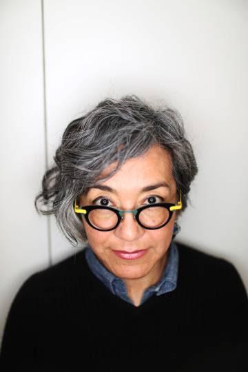 La escritor mexicana Cristina Rivera Garza, en Madrid.