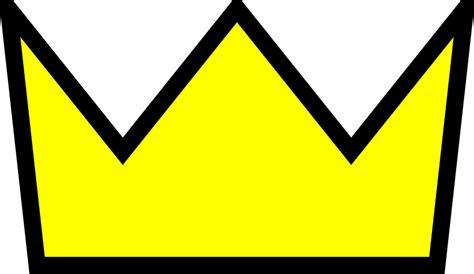 gambar vektor gratis mahkota emas kuning raja ratu