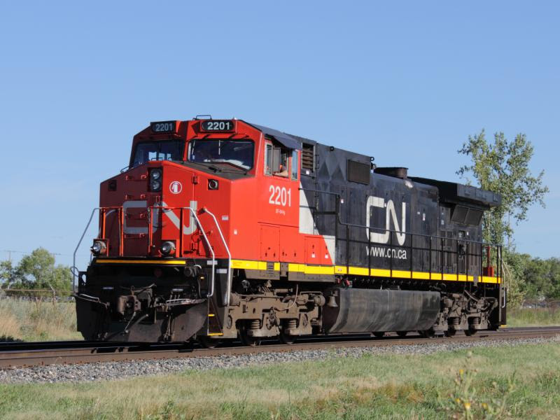 CN 2201 in Winnipeg