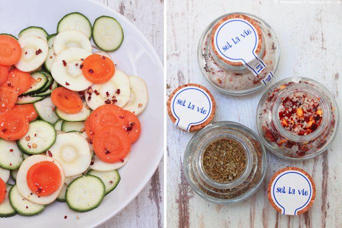fleur de sel, sel la vie, healthy chips, chipsalternative, Pastinake, Zucchinichips, Karotte