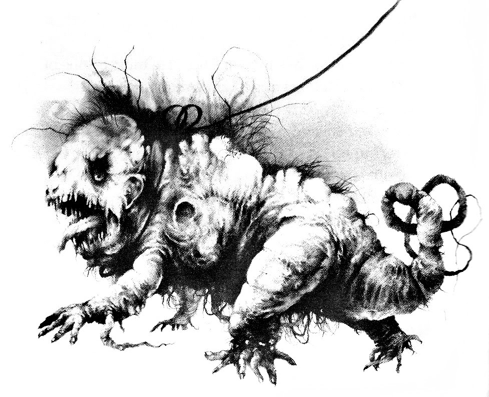 Stephen Gammell - Scary Stories Illustration
