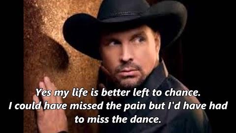 The Dance Garth Brooks Lyrics Youtube