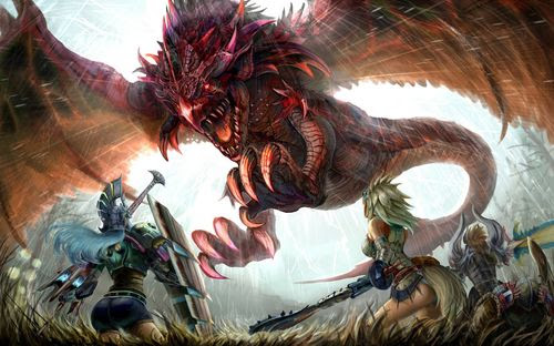Top 50 Monster Hunter Wallpapers Fashionwtf