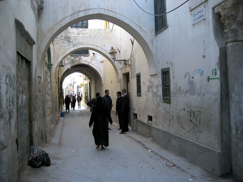 Street in old Tripoli