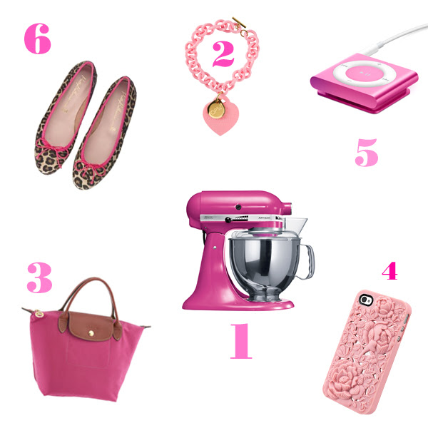 Simply girly: pink lover