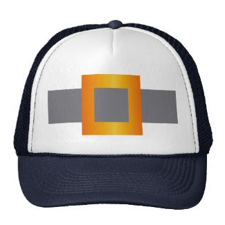 Faux Buckle Design on Trucker Hat