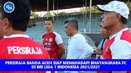 Latihan Terakhir Persiraja Sebelum Berangkat Ke Pulau Jawa Untuk Putaran Liga 1 2021