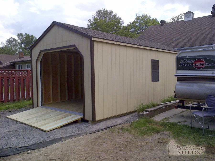 Portable Garage Photos » North Country Sheds