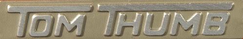 Tom Thumb toy typewriter