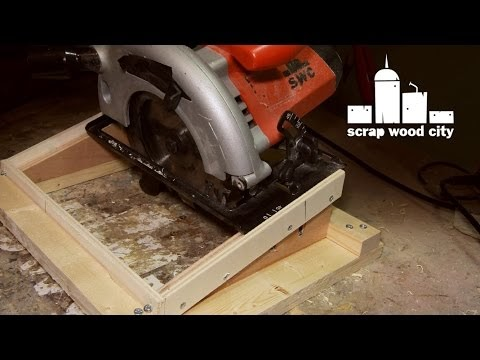 how to make a jig for cabinet handles