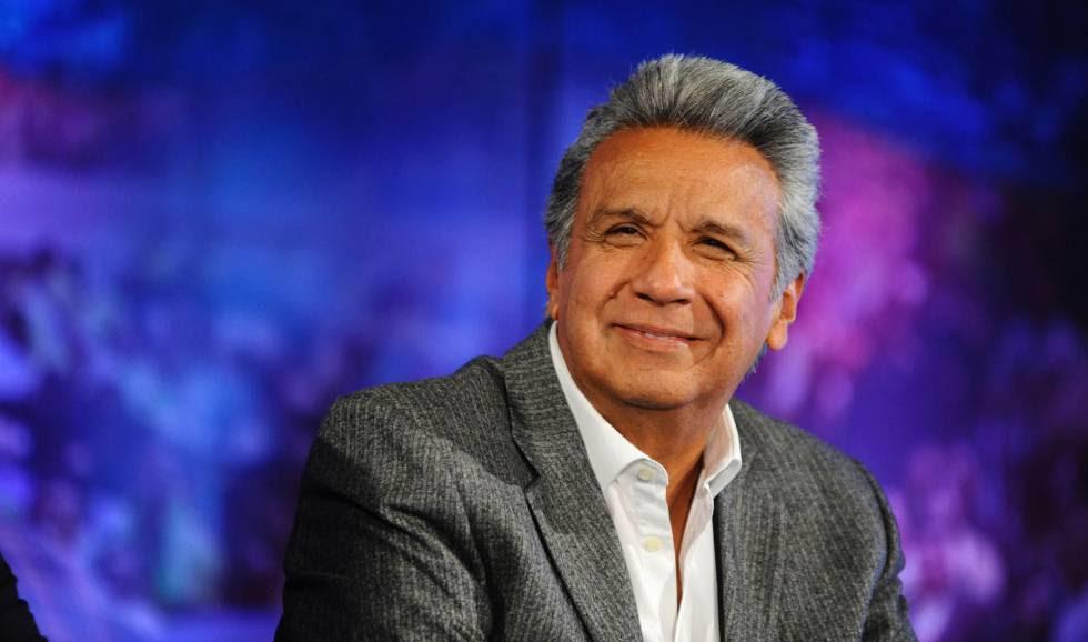 O sucessor de Rafael Correa, Lenín Moreno.