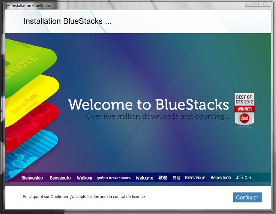 bluestacks comment utiliser