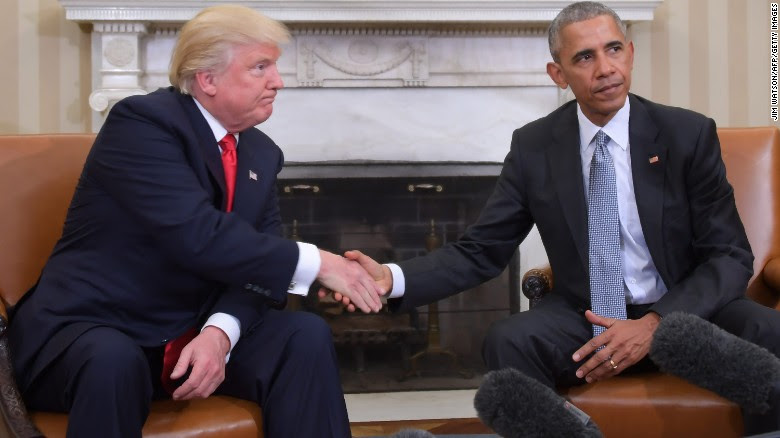 With latest jabs, Trump-Obama relationship reaches historic nastiness