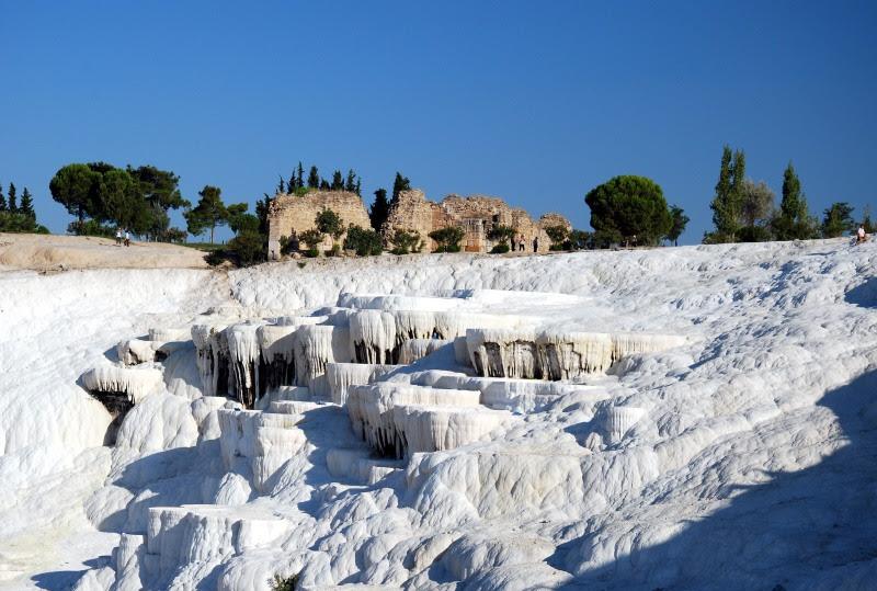 Качественные фотографии Памуккале. Достопримечательности Турции