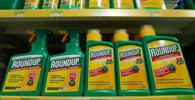 Imagen del herbicida Roundup de Monsant a la venta en una tienda de jardinería. /REUTERS