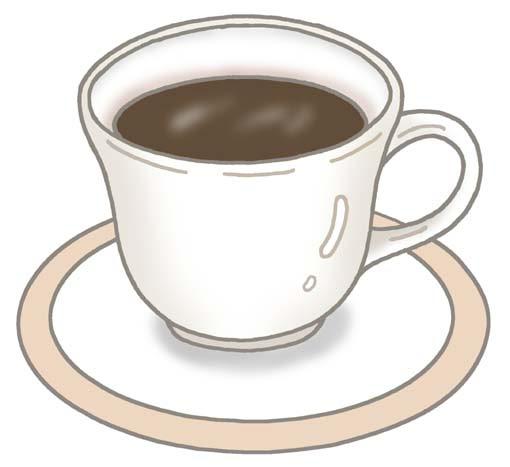 料理お菓子食材の無料イラストコーヒーカフェ珈琲ブレンド
