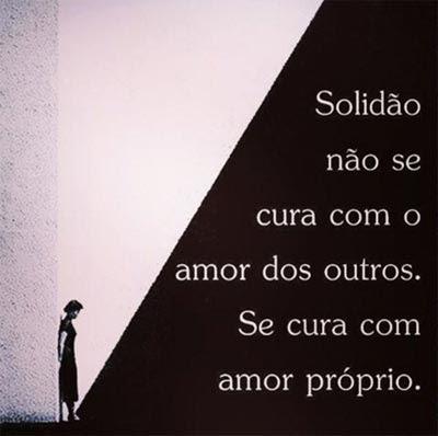 Solidão E Amor Próprio Status E Imagens