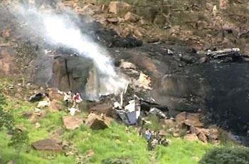 "Wreckage from the Antonov 26 ""ST-ARL"" Sudan Plane Crash"