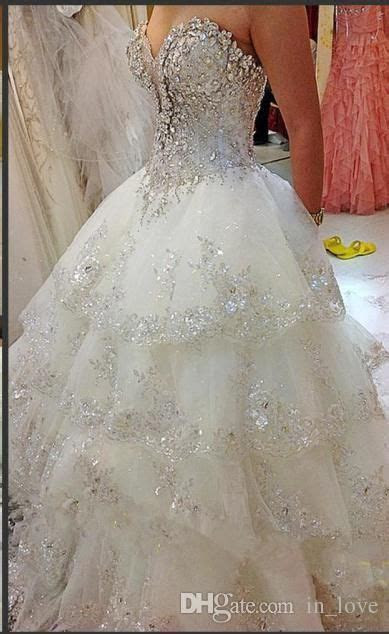 Best 25  Sparkly wedding dresses ideas only on Pinterest