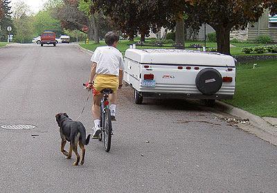 Walking the Dog  May 2005