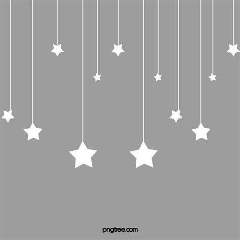 Hanging Stars Png, Vector, PSD, and Clipart With