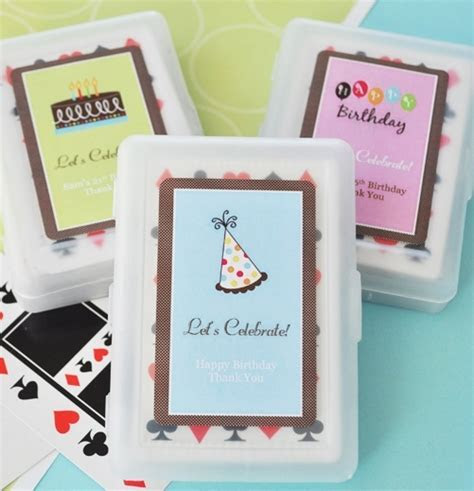 Birthday Deck of Cards, Personalized Deck of Cards