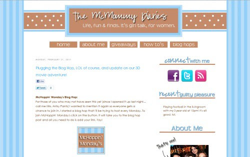 The McMommy Diaries