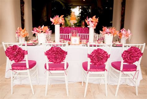 Pink And Orange Wedding Ideas   Weddings By Lilly