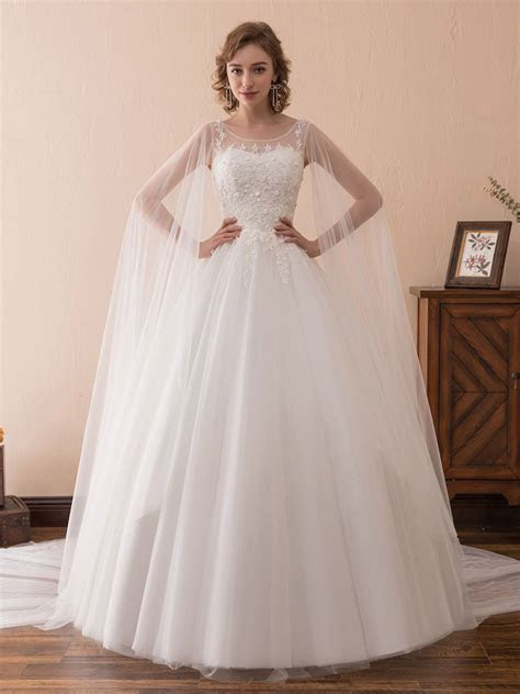 Only $159, Ball Gown Wedding Dresses Simple Tulle Lace
