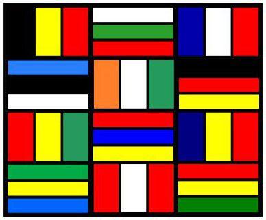 Les Drapeaux Du Monde à Colorier Le Ptit Matisse