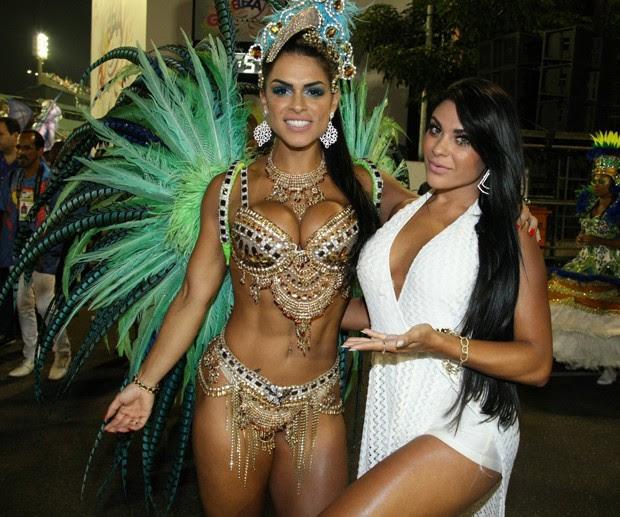 Fran Petersen e Luana Caetano (Foto: Editora Globo)
