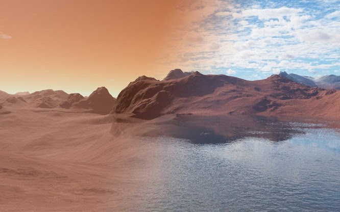 Πώς έμοιαζε κάποτε ο Άρης πριν 3,5 εκατομμύρια χρόνια και το νερό είναι ακόμα εκεί