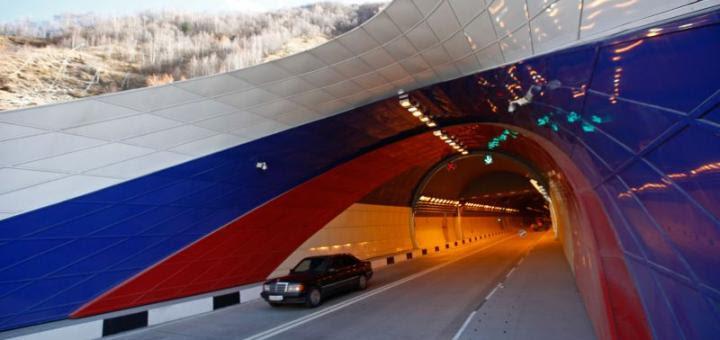 Южная Осетия Рокский Тоннель