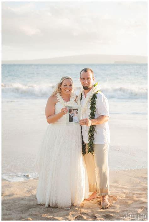Vow Renewal Portrait Idea :: Beach Vow Renewal :: Vow
