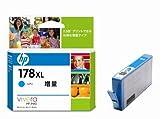 ヒューレット・パッカード HP178XLインクカートリッジ シアン 増量 CB323HJ