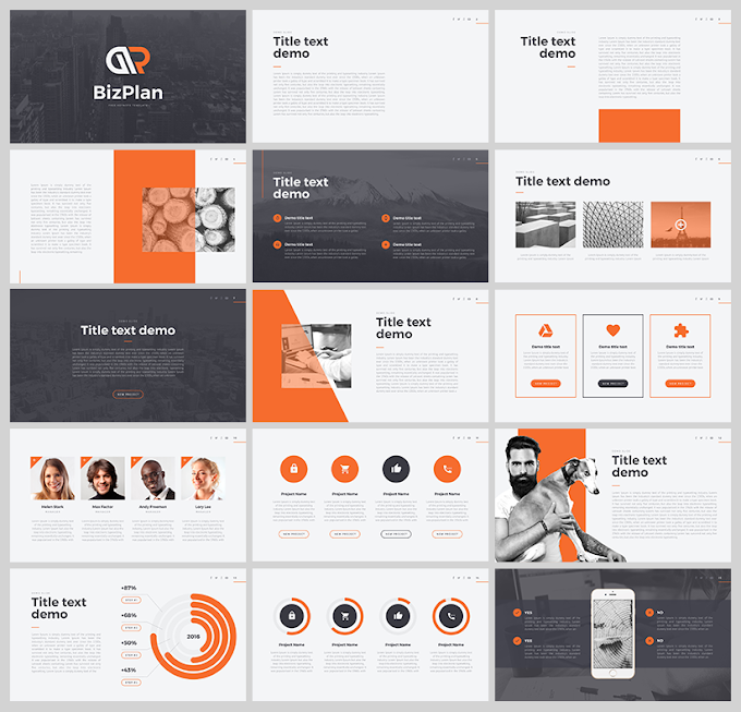 Presentation Templates For Business Plan