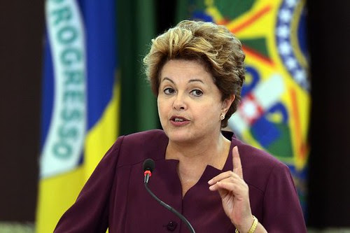 Brazil President Dilma Rousseff said that demonstrations should not be ignored in the South American state. The country is stronger because of the protests she said. by Pan-African News Wire File Photos