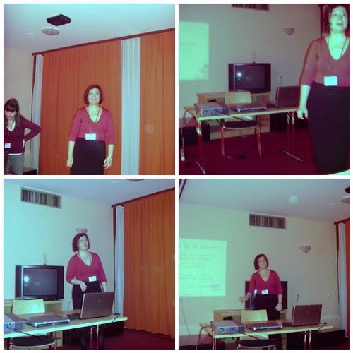 Presenting in Topolšica