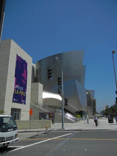 DSCN8645 _ Exterior, Walt Disney Concert Hall, Los Angeles, July 2013
