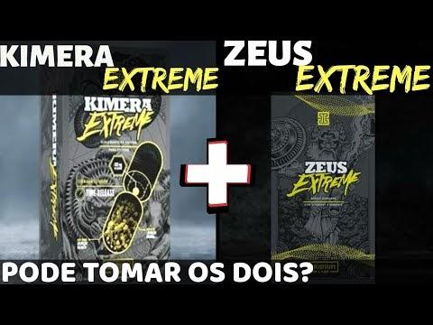Kimera Extreme e Zeus Extreme - Queima de Gordura e Ganho de Massa Magra. É Bom? Funciona?