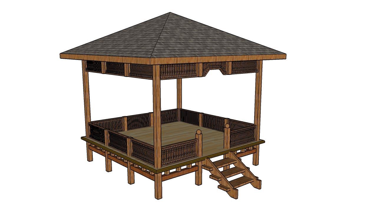 simple square gazebo plans
