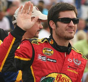 NASCAR driver Martin Truex, Jr. in August 2007...
