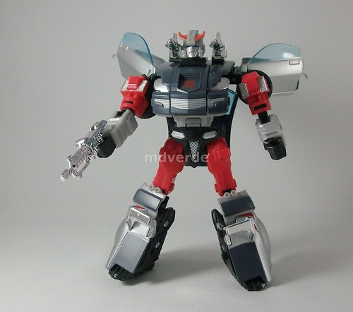 Transformers Streak Henkei (Silverstreak) - modo robot (by mdverde)