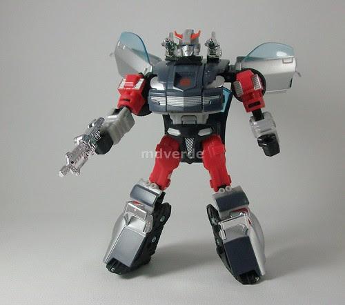 Transformers Streak Henkei (Silverstreak) - modo robot (by mdverde)